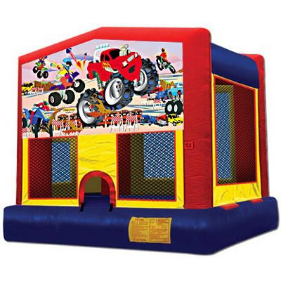 Inflatable Monster Truck Bouncer