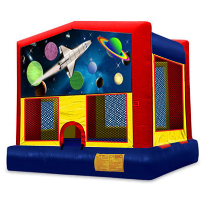 Inflatable Outer Space Bouncer