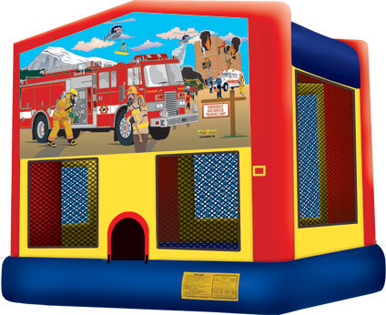 Inflatable Firefighter Bouncer