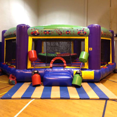 Inflatable Rock N Roll Joust Game Rentals Lancaster Pa