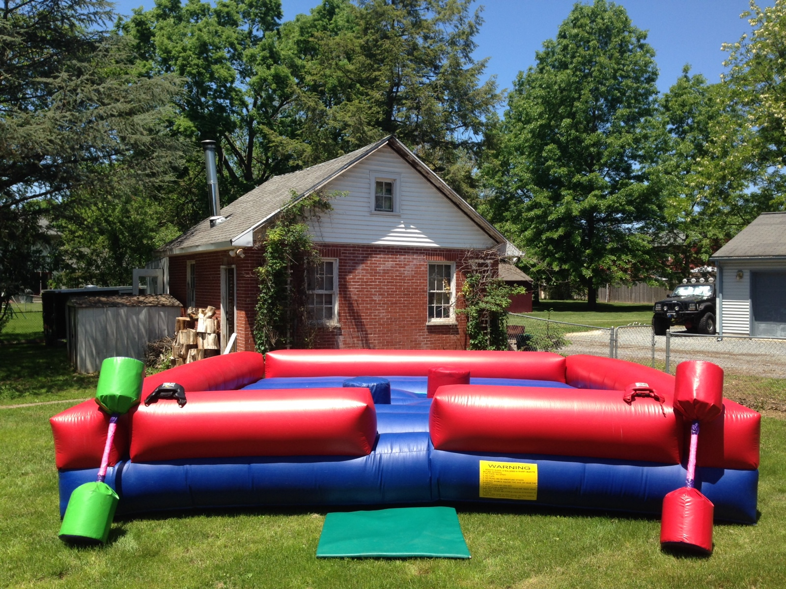 Inflatable Gladiator Joust Rentals Lancaster Pa