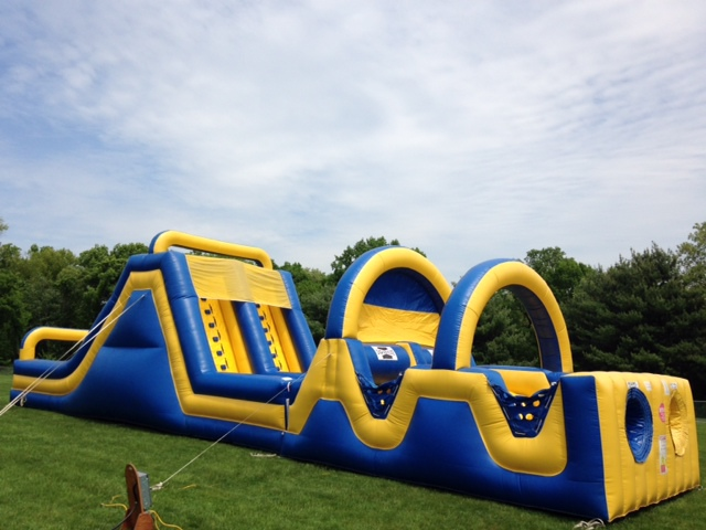 Inflatable 60' Obstacle Course Rentals Lancaster Pa