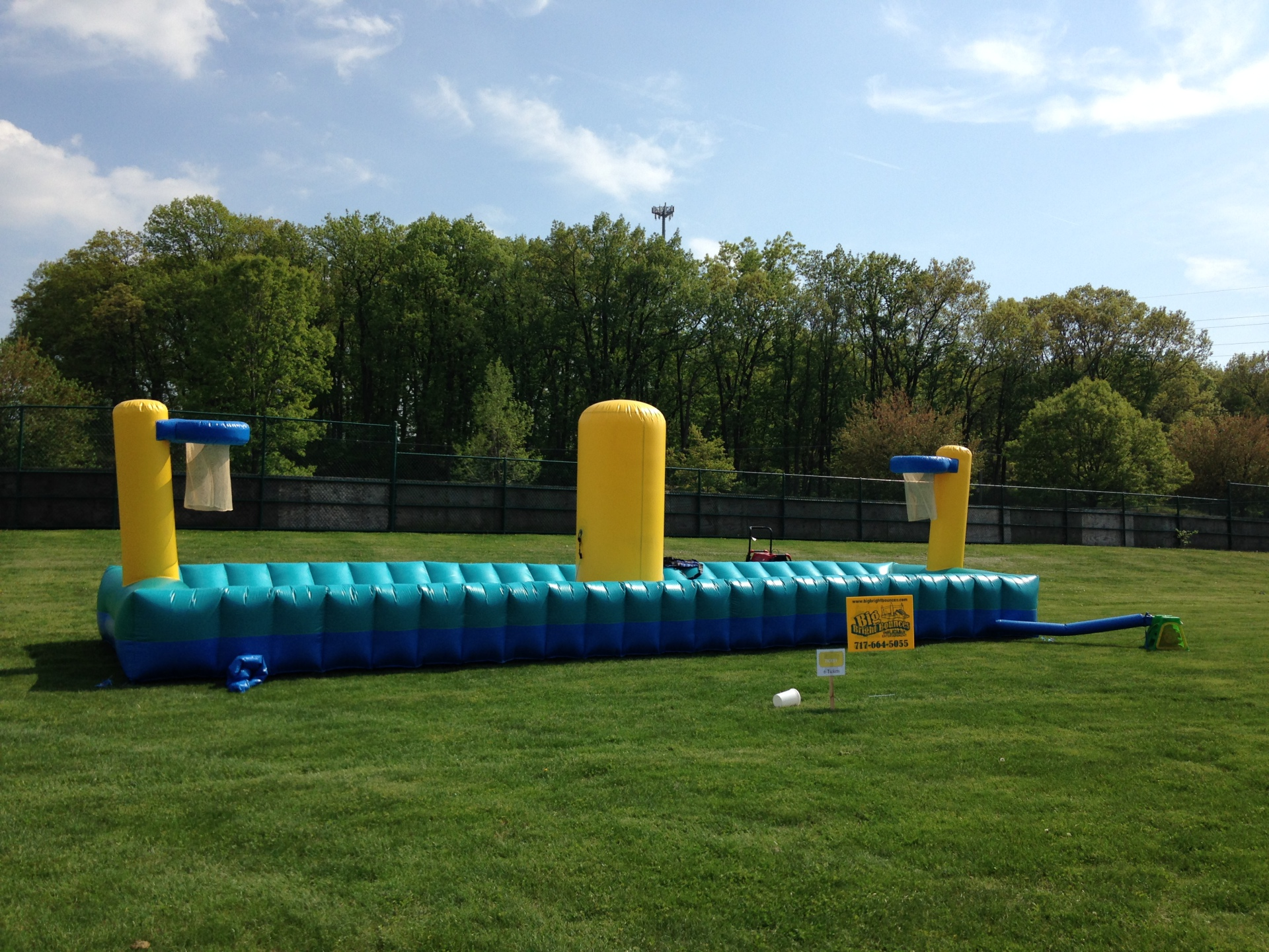 Inflatable Bungee Sport Run Challenge Rentals Lancaster Pa