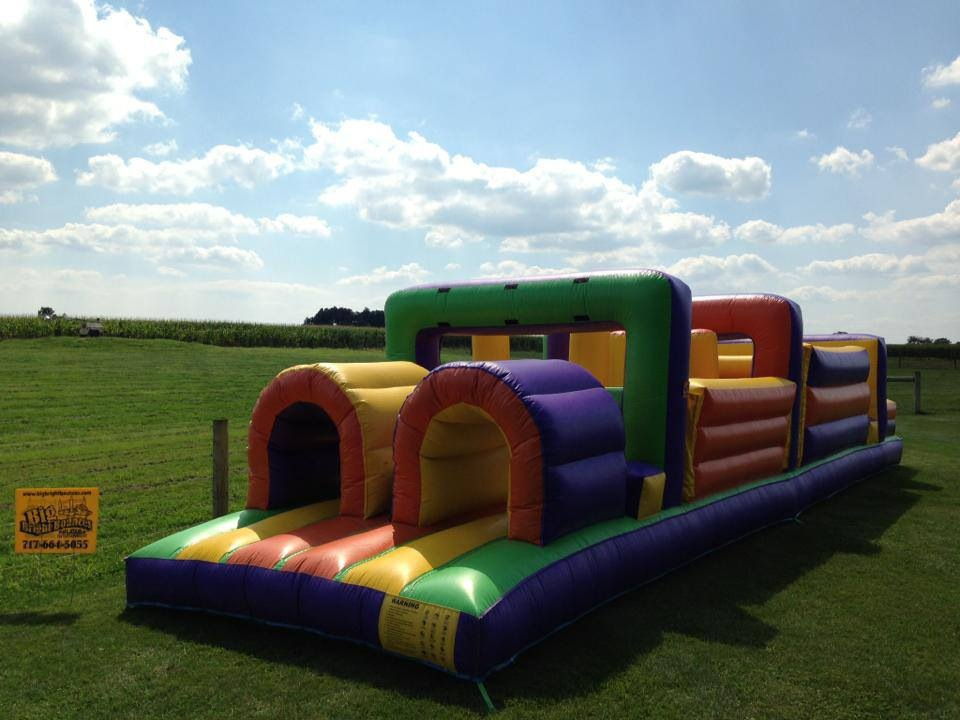 Inflatable 40' Single Obstacle Course Rentals Lancaster Pa