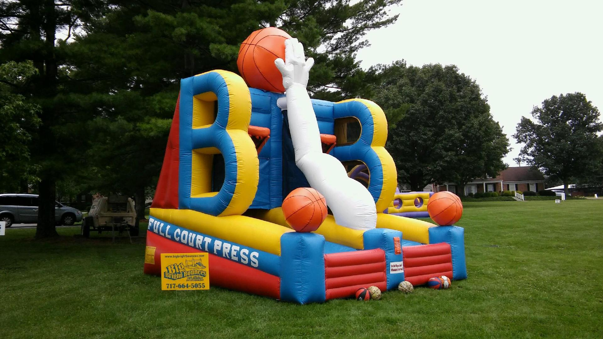Inflatable Basketball Game Rentals Lancaster Pennsylvania