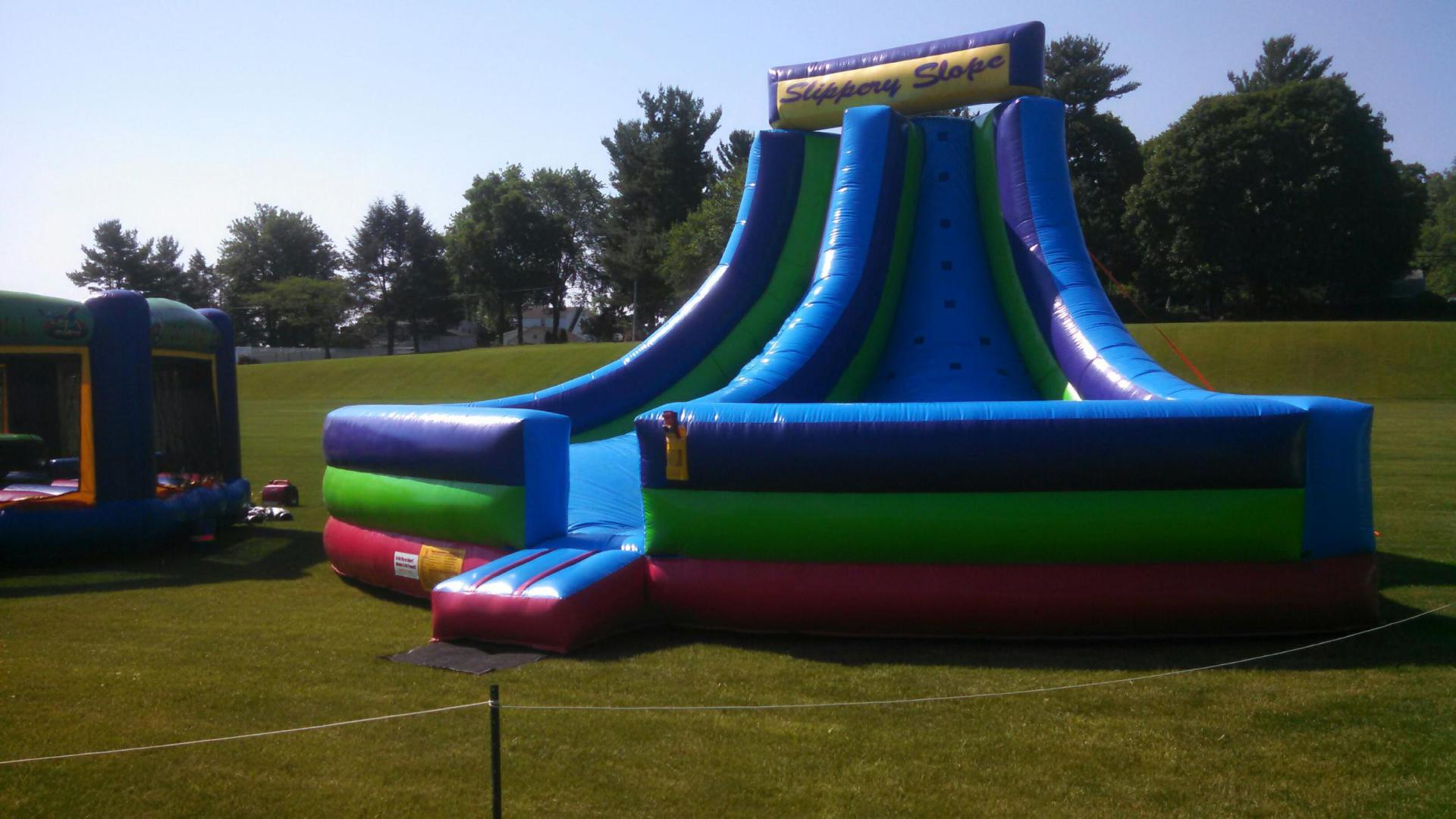 Inflatable Dry Interactive Slippery Slope Rentals Lancaster Pa
