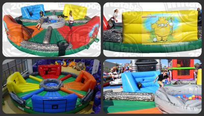 Inflatable Hungry Hippo Chow Down Bungee Run Rentals Lancaster Pa