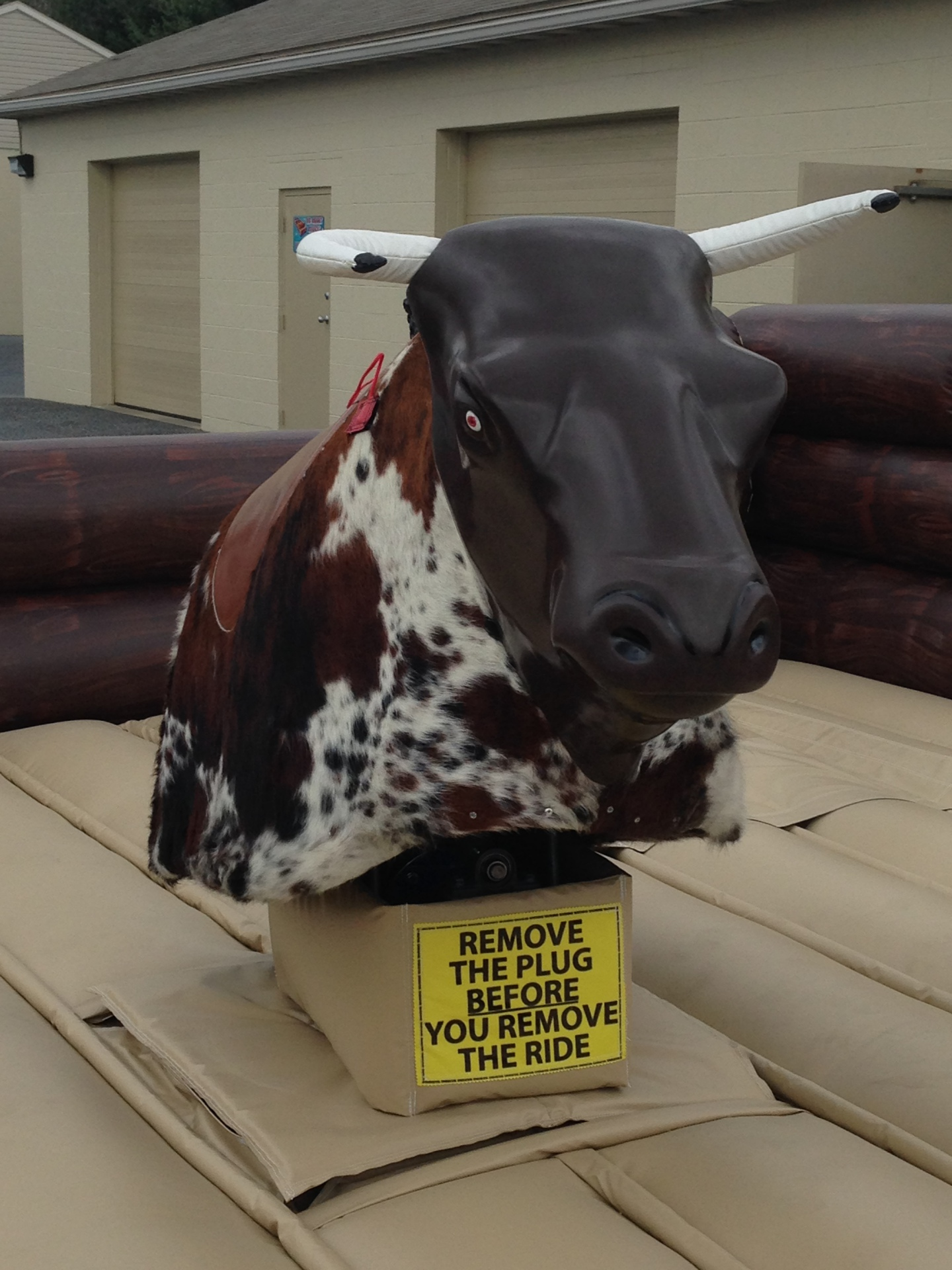 """Bones""  Mechanical Bull Rental Pa"