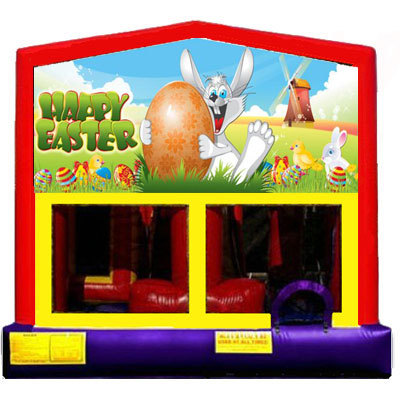 Inflatable Happy Easter Themed Bounce House