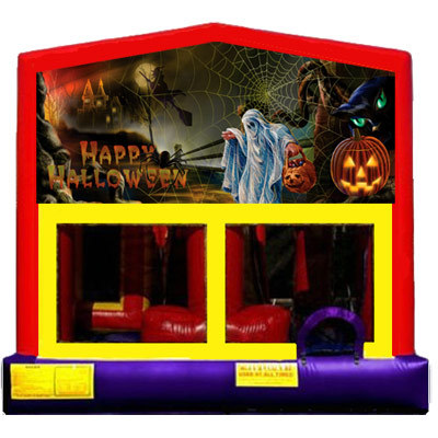 Inflatable Ghostly Halloween Bouncer
