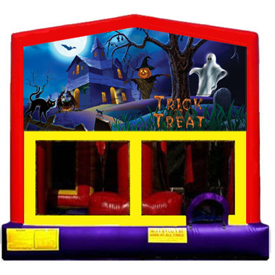 Inflatable Haunted Halloween Bouncer
