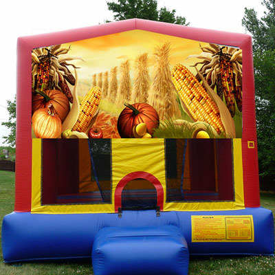 Inflatable Harvest Fall Bounce House