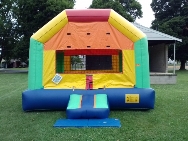 Inflatable Funhouse Bouncer