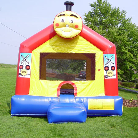 Inflatable Choo Choo Train Bounce