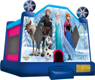Inflatable Frozen Bounce House Jumper Castle