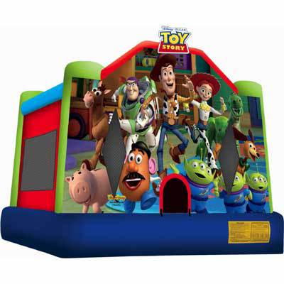 Inflatable Toy Story Bounce House Jumper Castle