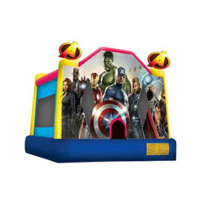 Inflatable Super Hero Bounce House Jumper