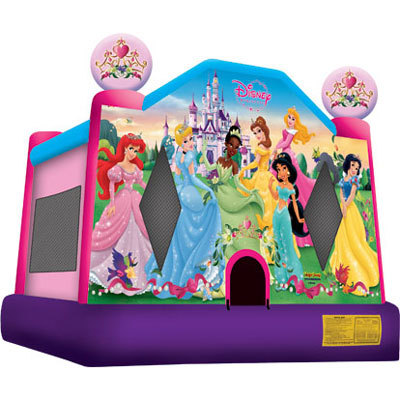 Inflatable Princess Bounce House Jumper Castle