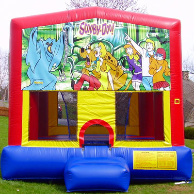 Inflatable Scooby Doo Bounce House Jumper Castle