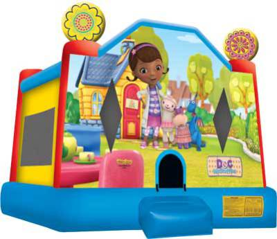 Doc McStuffin Bounce House Jumper Castle
