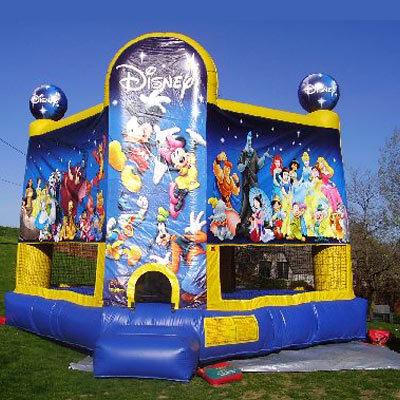 15 x 15 World of Disney Bounce House