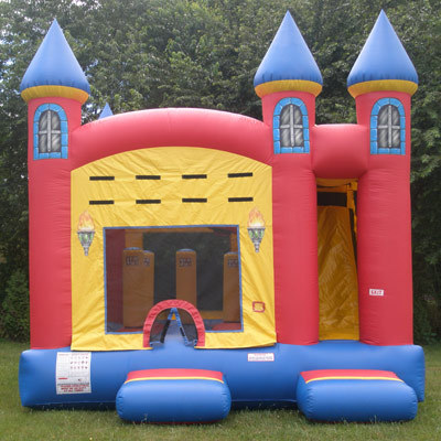 bounce combo jumper slide castle