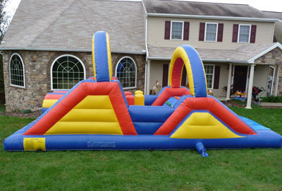 Inflatable 24' Obstacle Course