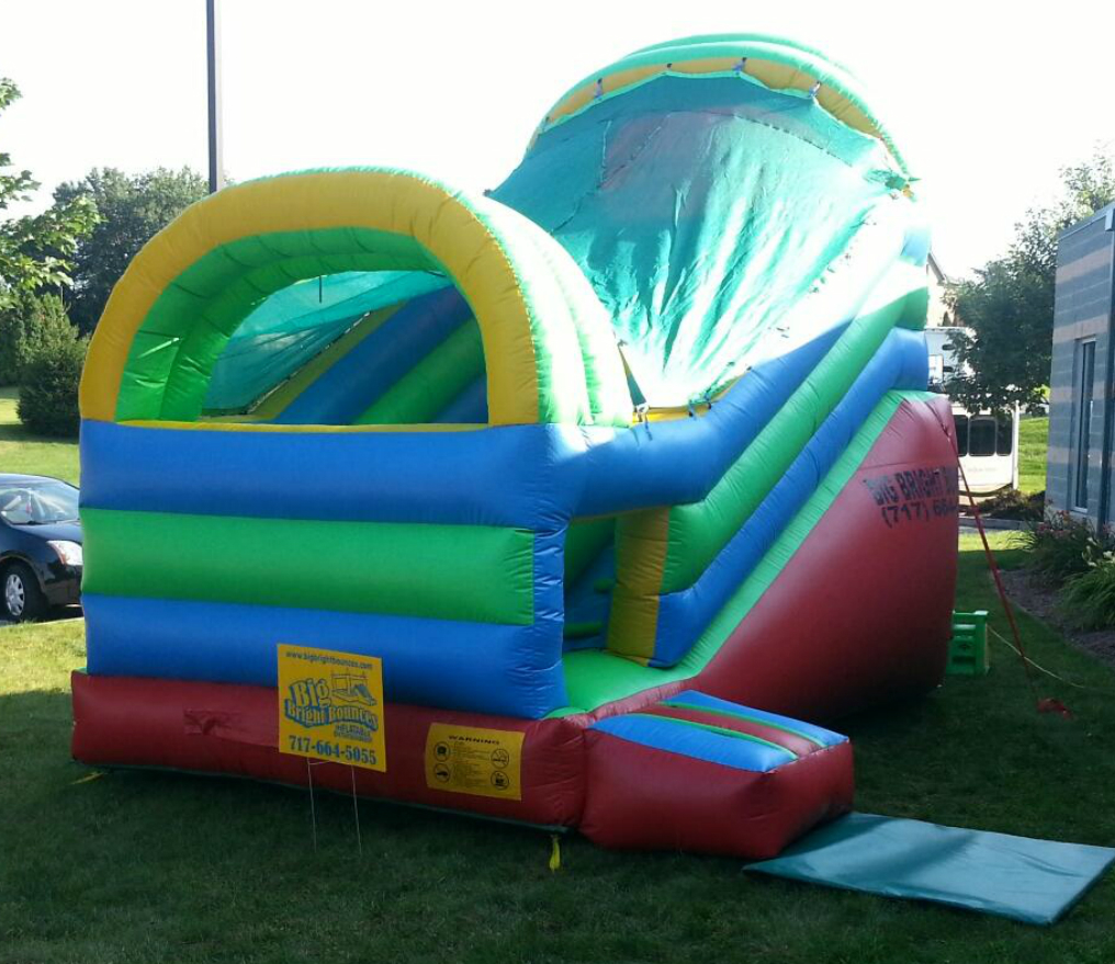 Inflatable 14' Mini Backyard Slide