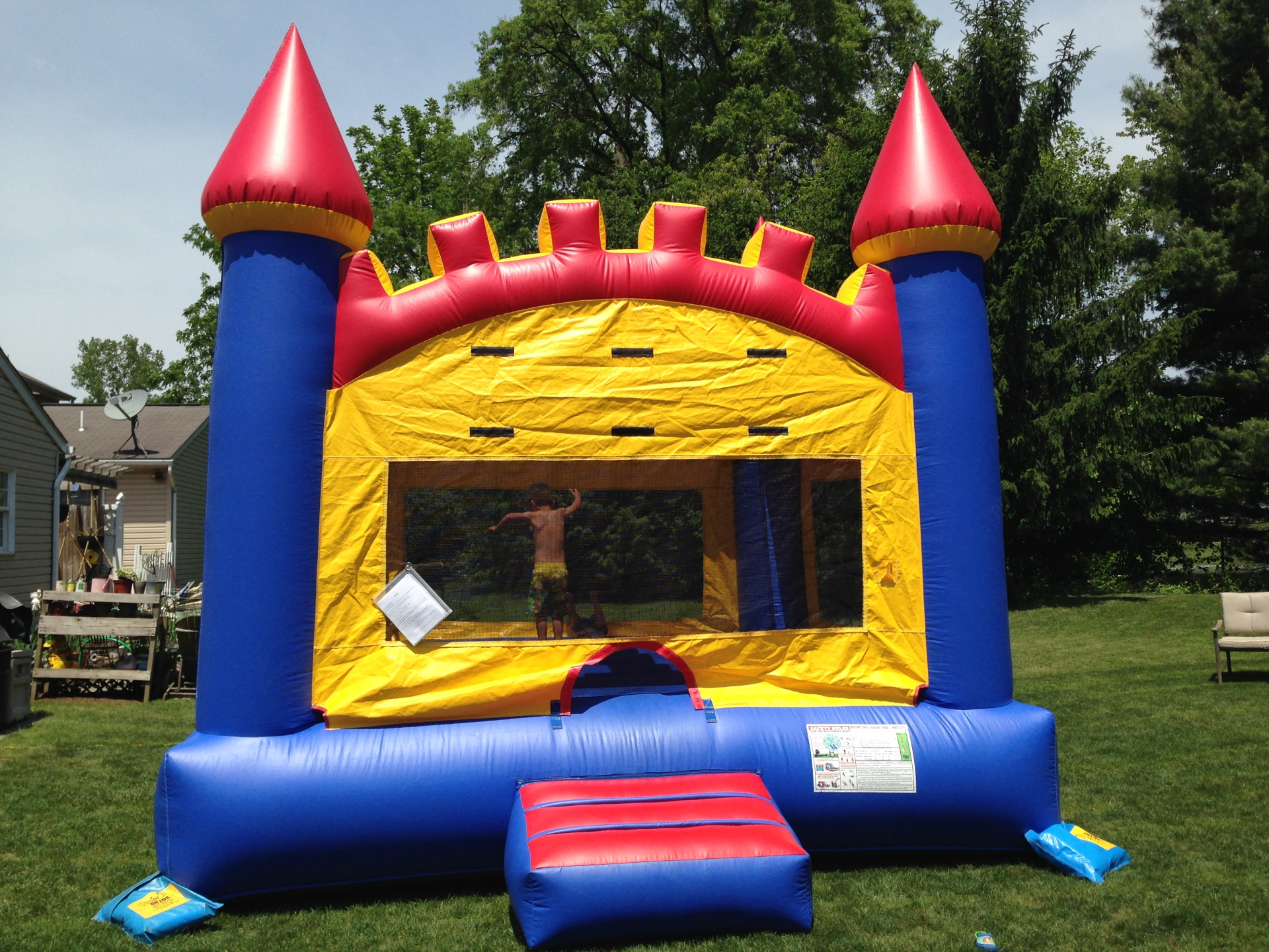 15 x 15 Castle Bounce