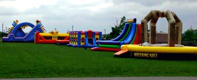 Big Bright Bounces Inflatable Rentals