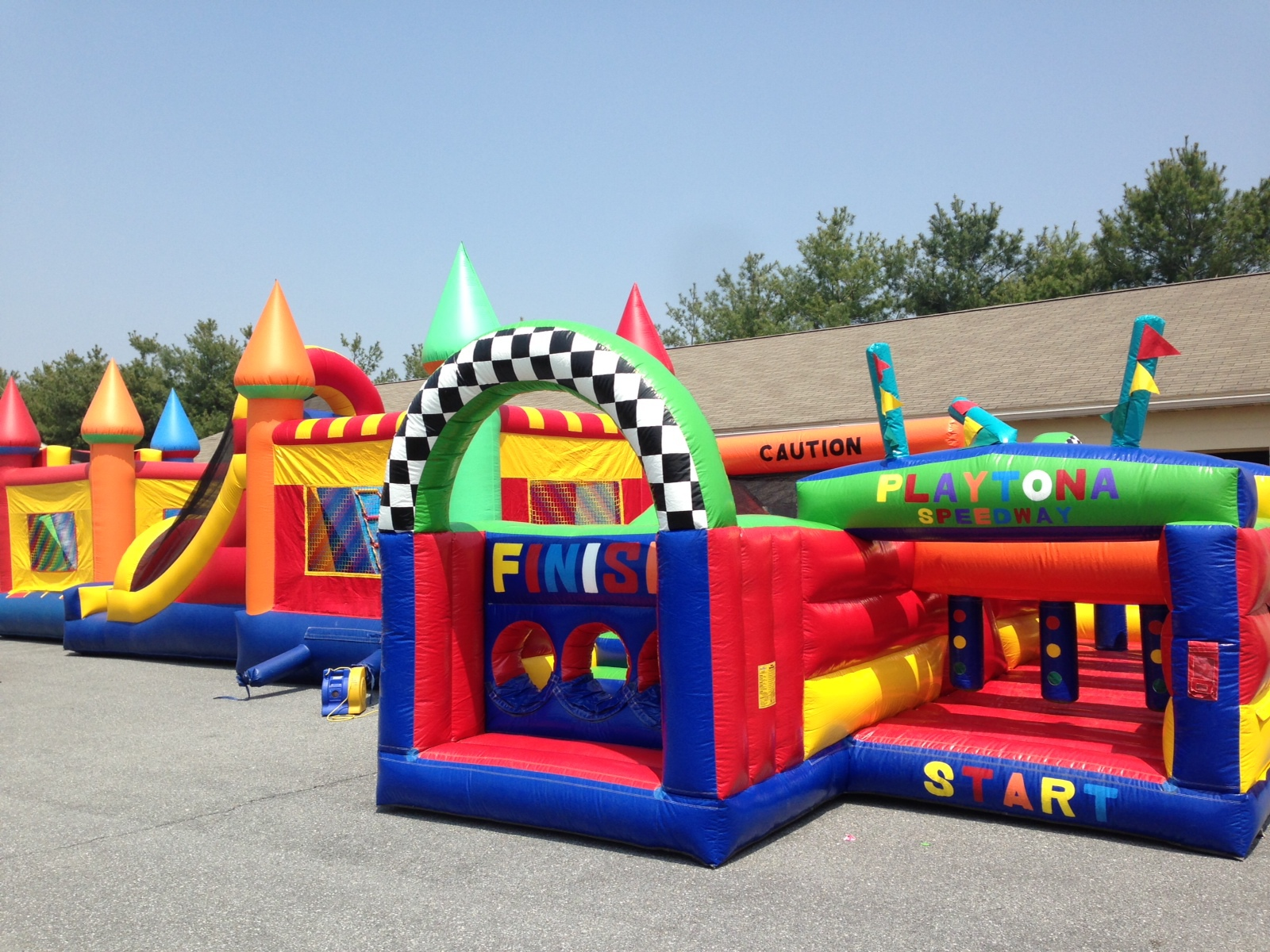 Big Bright Bounces Inflatable Rentals