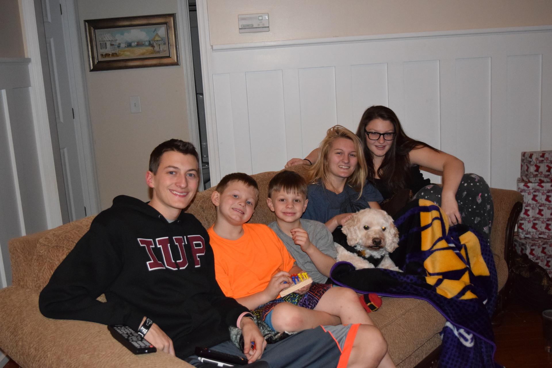 5 of the 6 Children