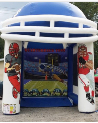 Inflatable Football Toss Game Rentals Lancaster Pa