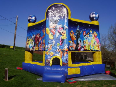 Inflatable Disney Bounce House Jumper Castle