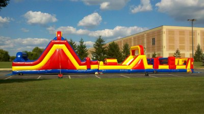 Inflatable Mega Obstacle Course