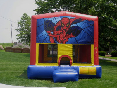 Inflatable Spiderman Bounce House Jumper Castle