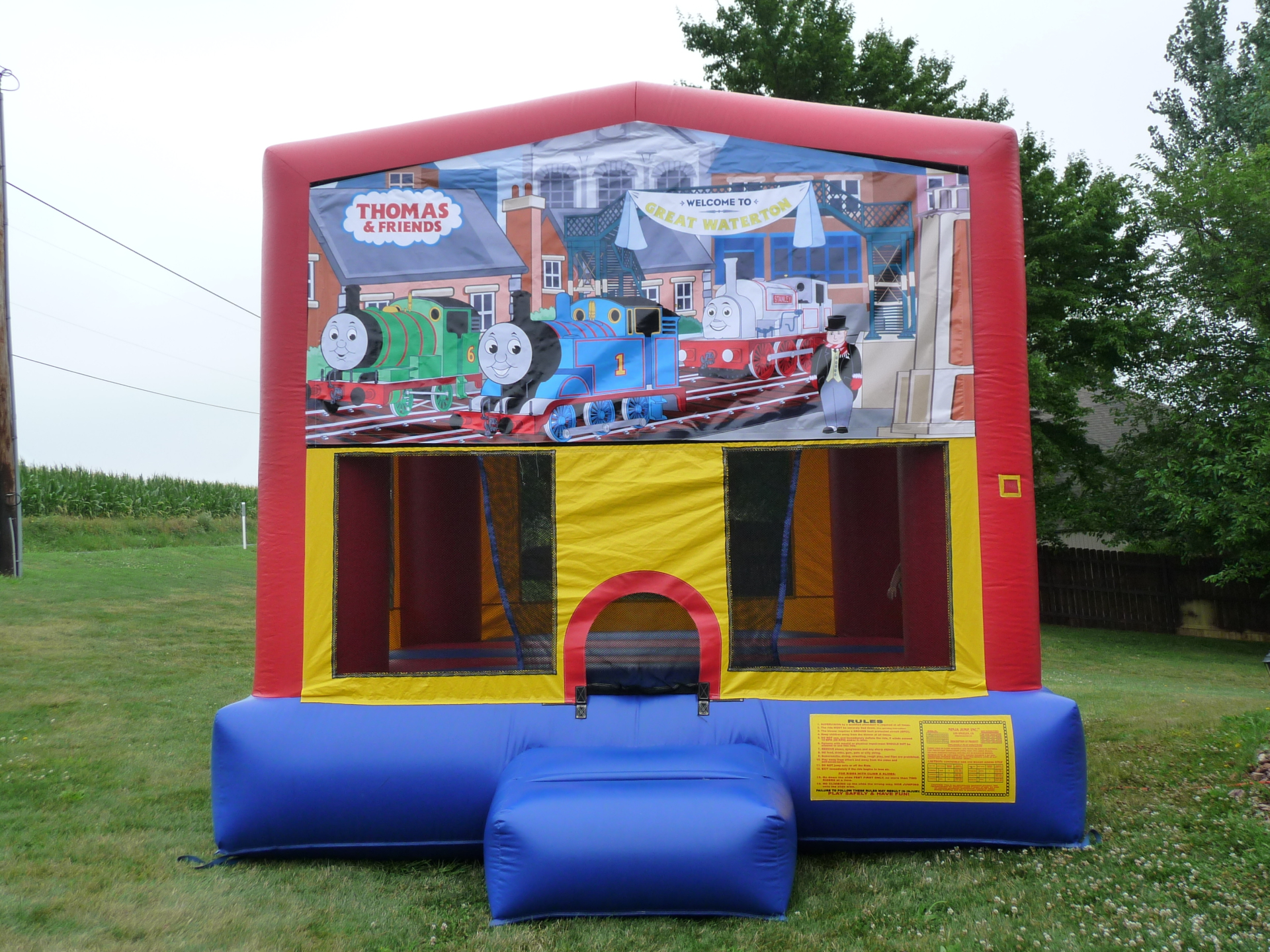 Inflatable Thomas and Friends Bounce House Jumper Castle