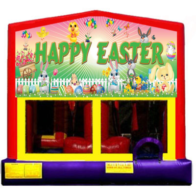 nflatable Happy Easter  Themed Bounce House