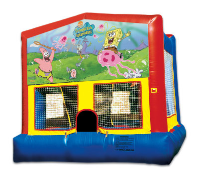 Inflatable Spongebob Bounce House Jumper Castle
