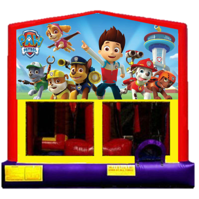 Inflatable Paw Patrol Bounce House Jumper Castle