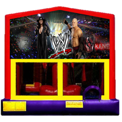 Inflatable WWE Wrestling Bounce House Jumper