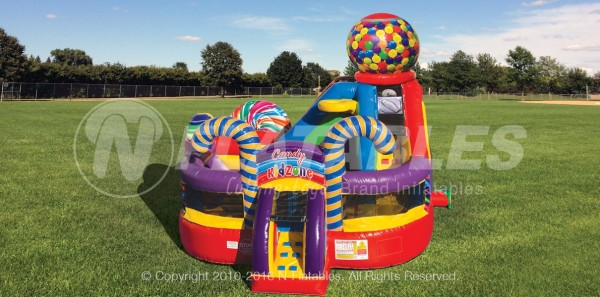 New* Candyland Kids Zone Bounce