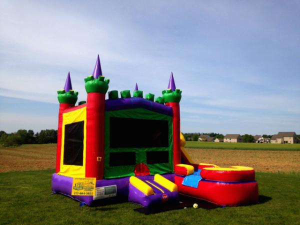 4 in 1 Combo Bounce Castle