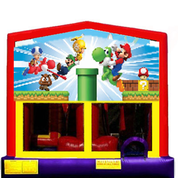 Inflatable Bounce Super Mario Brothers Jumper Castle