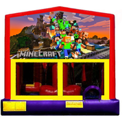 Inflatable Mindcraft Bounce House Jumper Castle