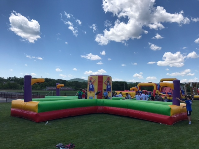 Bungee Run Football Basketball Inflatable Rentals Lancaster Pa