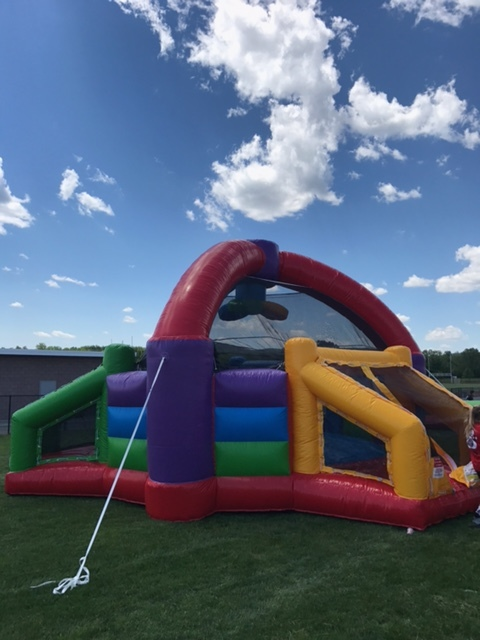 Interactive competitive dodgeball Inflatable Bounce Rentals Lancaster Pa