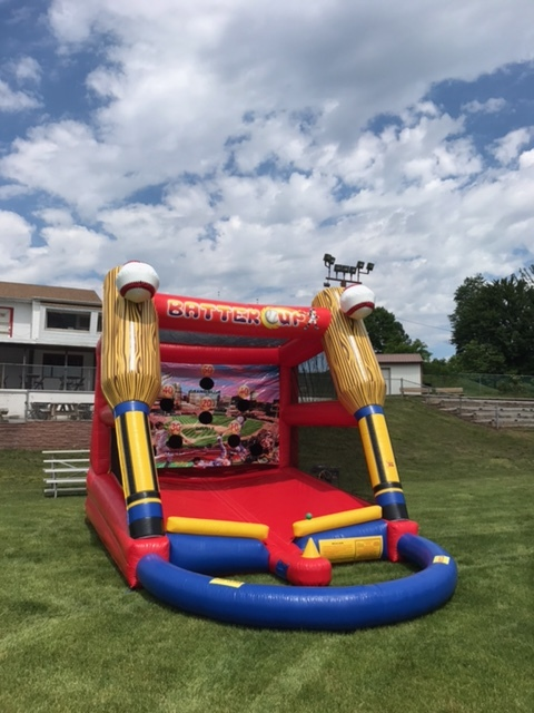 Inflatable Batter Up Baseball Game Rentals Lancaster Pa