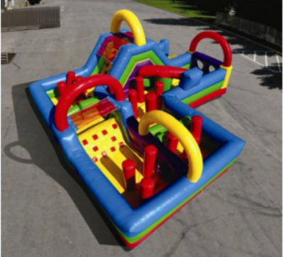 Inflatable Wacky Kids Maze Obstacle