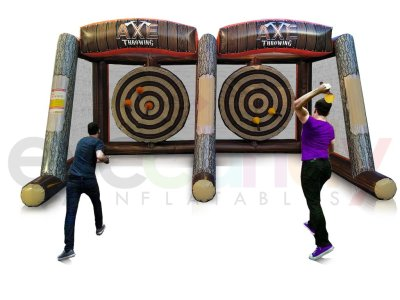 Axe Throwing rentals  competitive axe throwing events for social, corporate, and league groups.